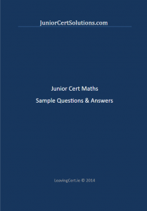 Junior Cert Maths Sample Questions & Answers